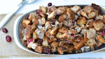 Pear and Cranberry Stuffing horiz