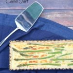 Gluten Free Savory Asparagus and Goat Cheese Tart