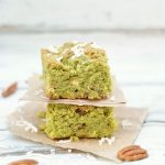 Tropical Gluten Free Matcha Coconut Bars
