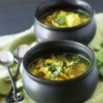 Cold Busting Chicken Turmeric Vegetable Soup