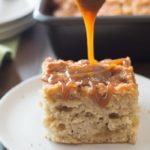 Irresistible Gluten Free Caramel Apple Cake