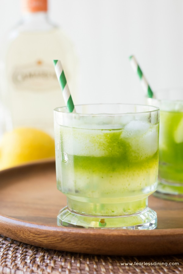 Lemonade tequila cocktail with cilantro fearless dining for Drinks you can make with tequila