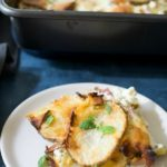 Bacon Ricotta Cheesy Scalloped Potatoes
