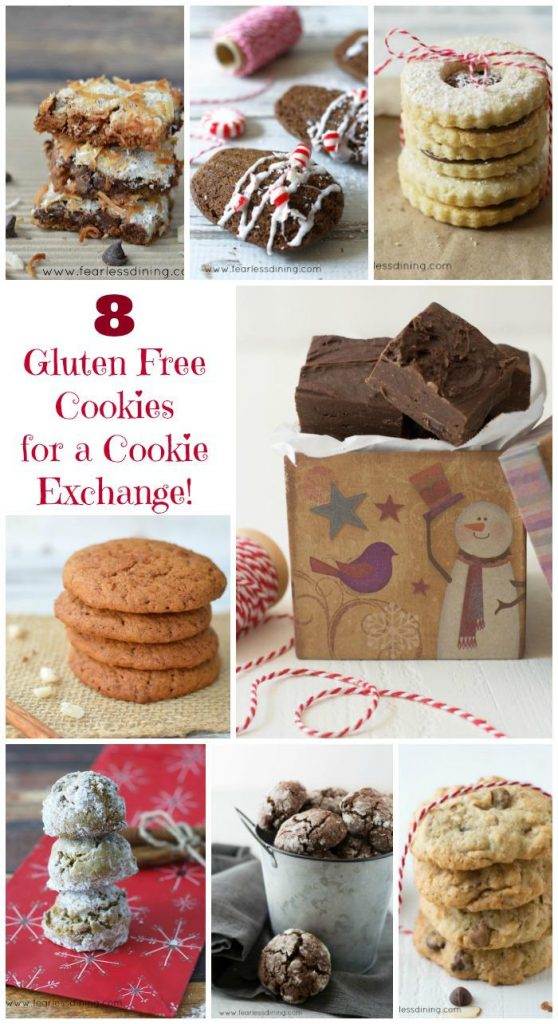 8 Delicious Gluten Free Cookies For Your Cookie Exchange Party!