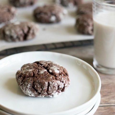 Easy Gluten Free Brookies Cookies