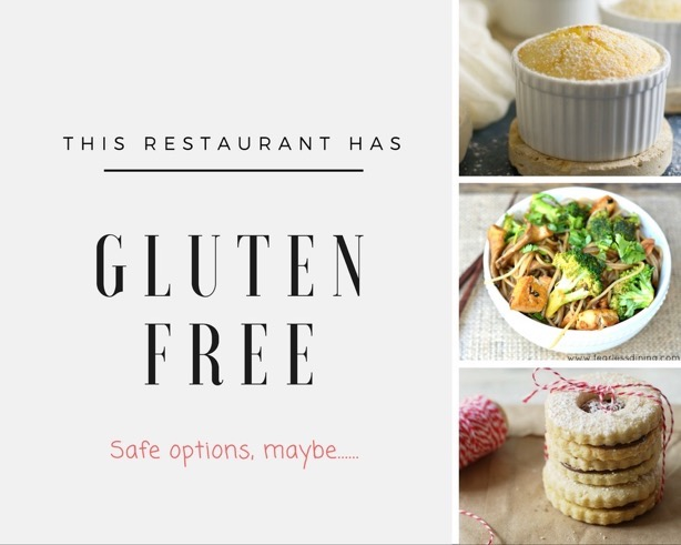 Safe Gluten Free Dining