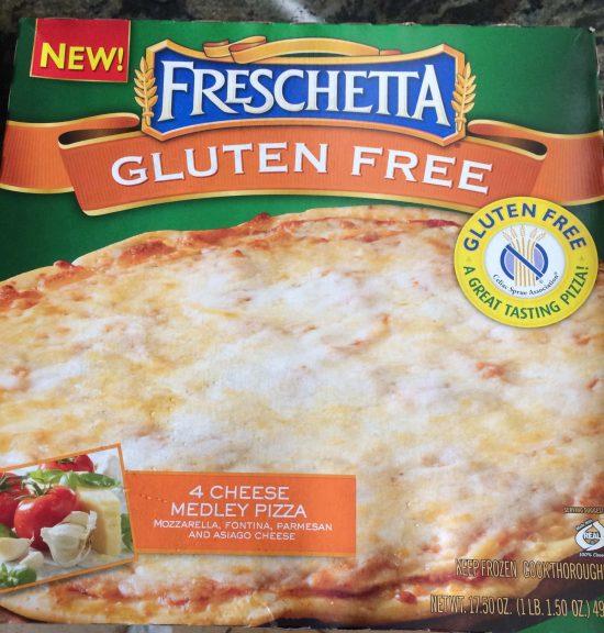 Freschetta Gluten Free Frozen Pizza box