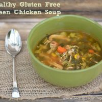 Green Chicken Soup Recipe