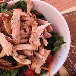 Proposition Chix Flipped Kale Salad #glutenfree