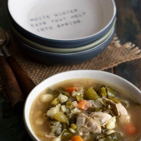 Healthy Chicken Vegetable Soup Recipe