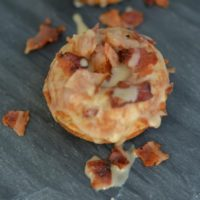 Easy Gluten Free Maple and Bacon Mini Donuts