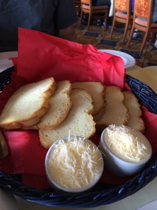 basket of gluten free bread