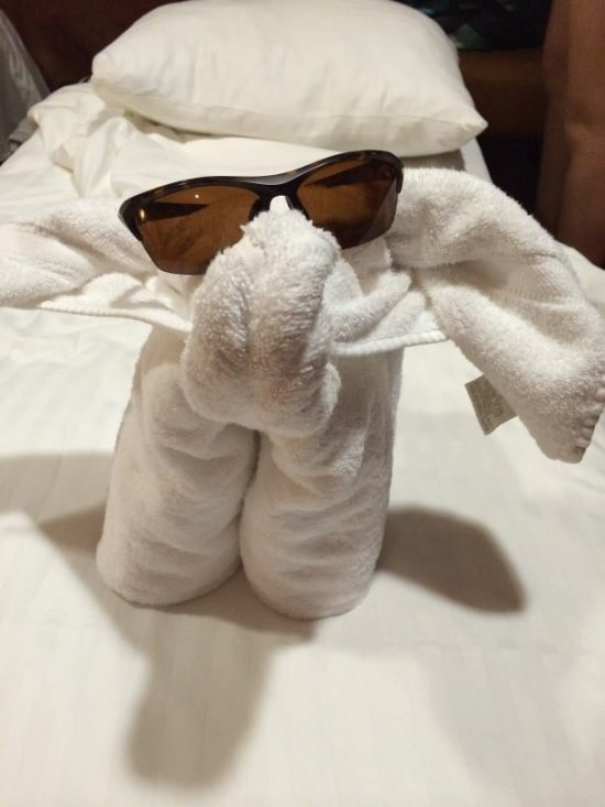 carnival towel animal
