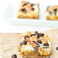 Easy Fall Flavored Gluten Free Pumpkin 7 Layer Bars