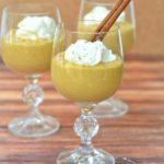 Creamy Kabocha Squash Mousse {Hidden Veggies!}