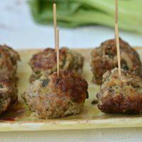Gluten Free Bok Choy Meatballs