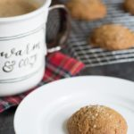 Easy Gluten Free Ginger Cookies with Candied Ginger