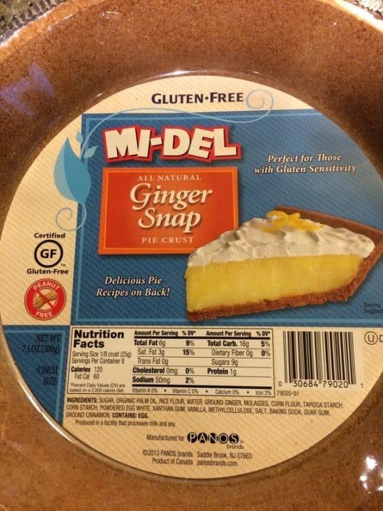 midel gluten free crust