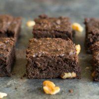 Paleo Delicata Squash Brownies