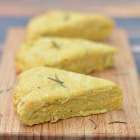 Gluten Free Fontina Herb Scones