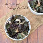 Kale, Pear, and Mozzarella Salad