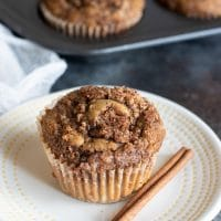 Gluten Free Blood Orange Cinnamon Streusel Muffins