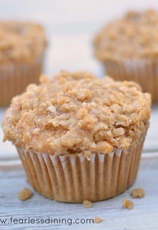 Gluten Free Blood Orange Streusel Muffins image