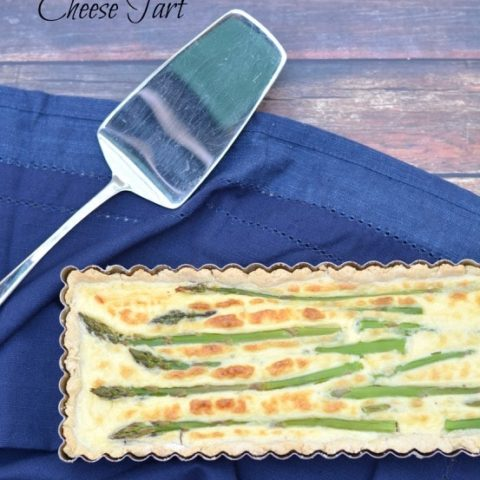 Gluten Free Asparagus and Goat Cheese Tart