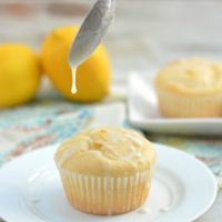 Gluten Free Lemon Cupcakes with Lemonade Icing