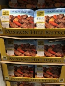 Mission Hill Bistro Steak Tips at Costco