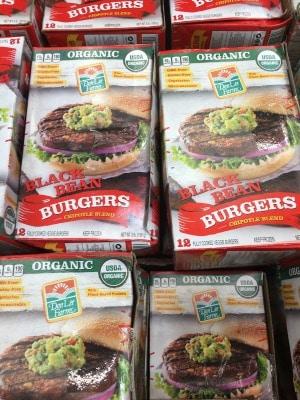 DeeLite Black Bean Burgers