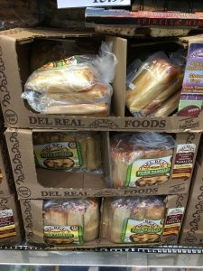 Gluten-Free Costco bags of tamales by Del Real