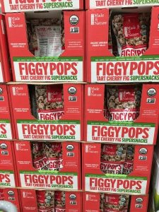 Gluten-Free Costco boxes of Figgy Pops