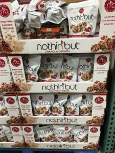Gluten-Free Costco bags of Nothin But Cookies in a box