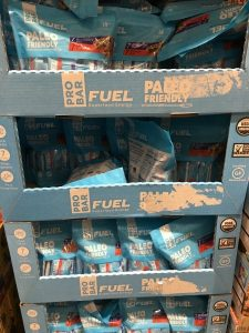 Gluten-Free Costco boxes of Pro Bar Fuel gluten free energy bars