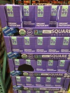 Square Organic Protein Bars