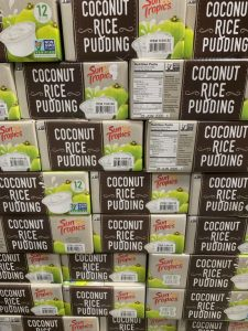 coconut rice pudding cups by Sun Tropics