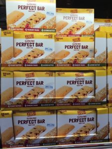 Gluten-Free Costco boxes of The Perfect Bar