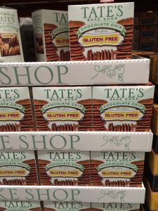 Gluten-Free Costco boxes of Tate's gluten free cookies