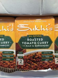 Costco Gluten Free Foods Sukhi's curry boxes