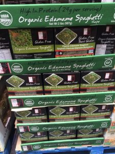 Gluten-Free Costco organic edamame spaghetti