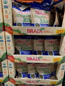 Brad's Crunchy Kale Chips at our costco store