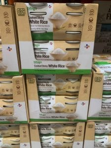 Bibigo sticky rice at Costco