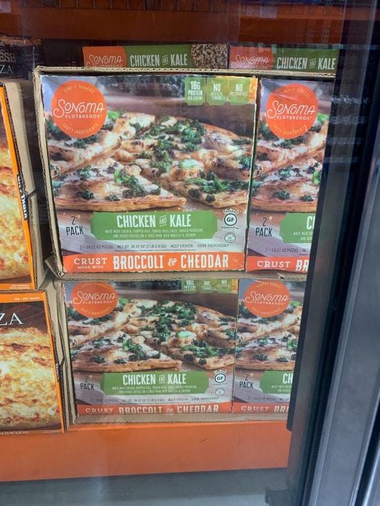 Sonoma Flatbread Chicken and Kale Flatbread Pizza at Costco