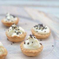 Gluten Free Baked Cannoli Bites