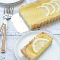 Easy Gluten Free Lemon Tart
