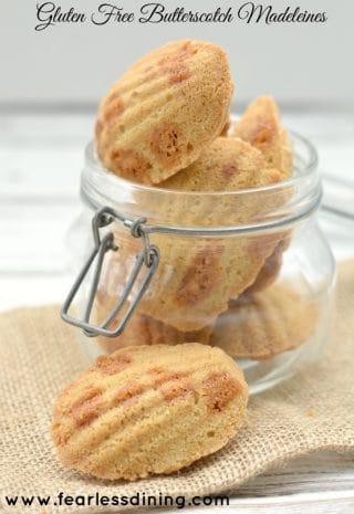 Gluten Free Butterscotch Chip Madeleines image