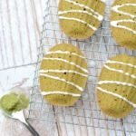 Gluten Free Matcha Green Tea Madeleines
