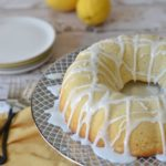 Homemade Gluten Free Lemon Bundt Cake with Lemon Icing
