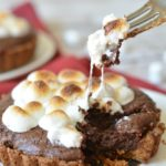 Gluten Free Chocolate Brownie S'mores Tarts